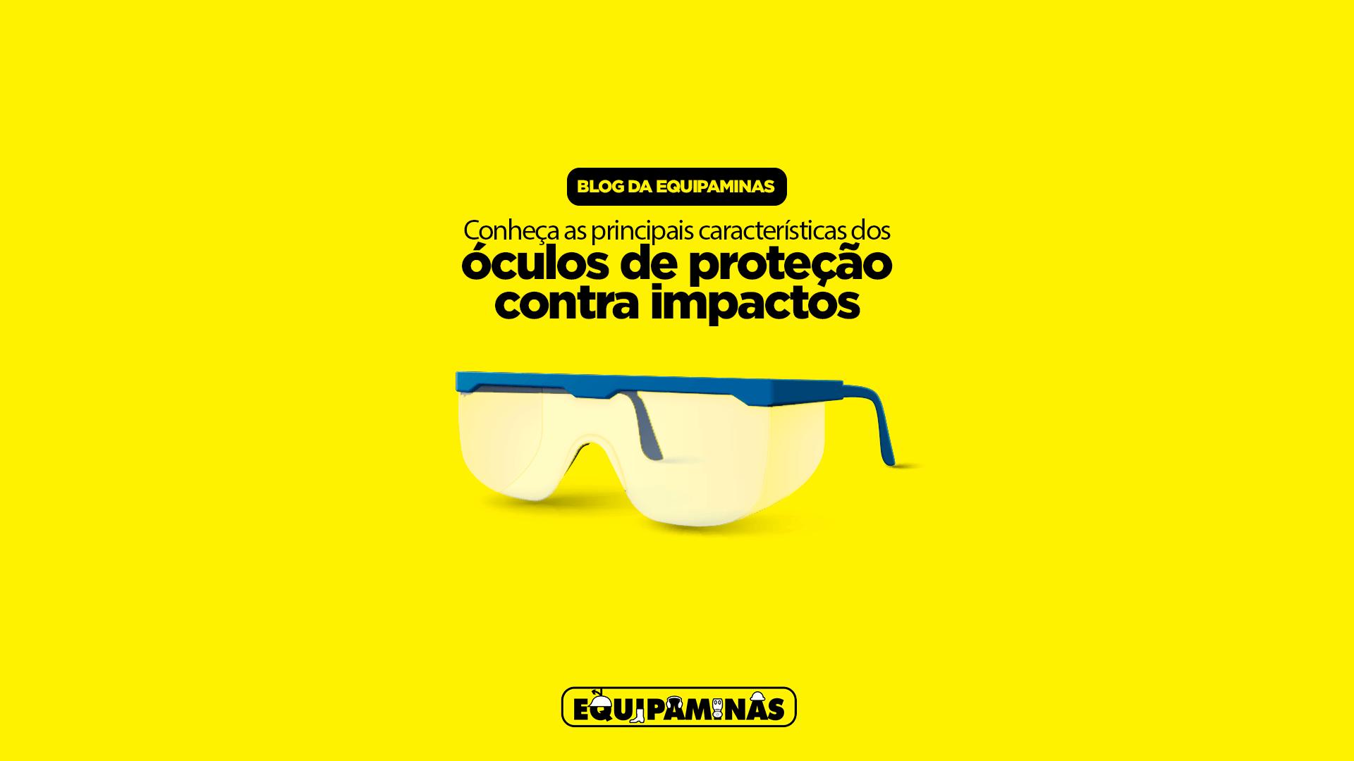 Óculos de proteção contra impactos