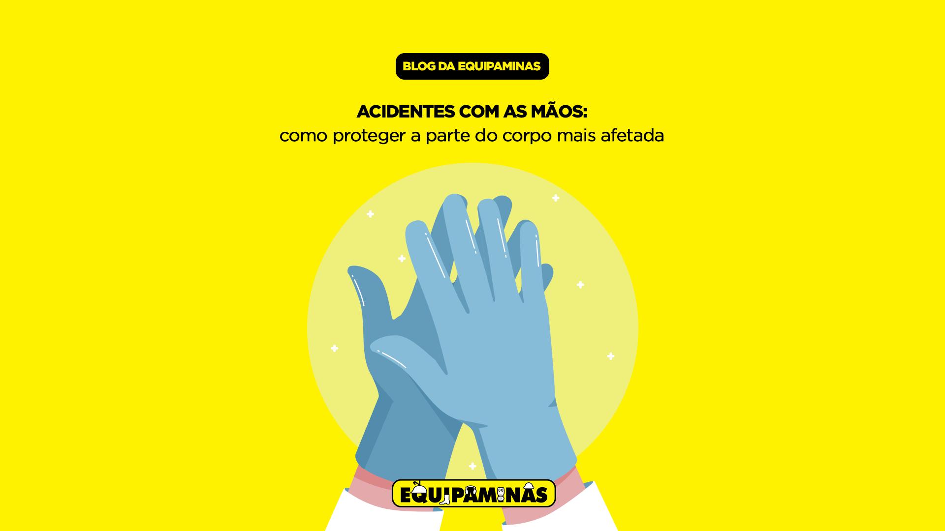 Acidentes com as mãos